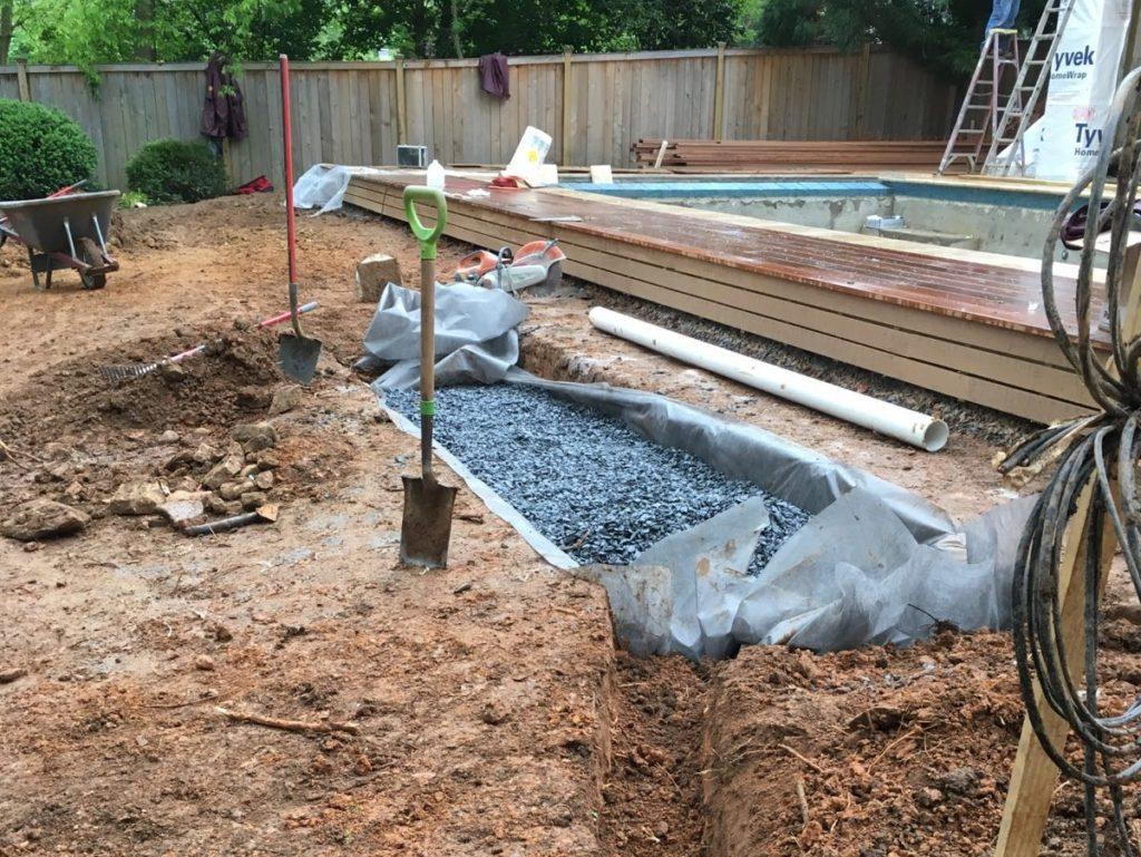 drainage solutions miller landscapes